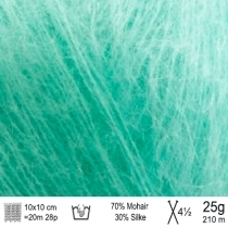 Angel Mohair garn 133 mint