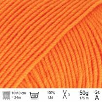 Drops Baby Merino garn fv. 36 orange