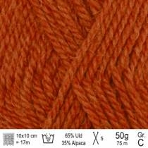 Drops Nepal garn 2920 orange mix