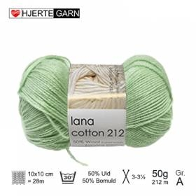 Lana Cotton 7093, lys lime