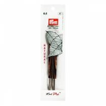Knitpro Natural kabelpind 6.0 mm, lang