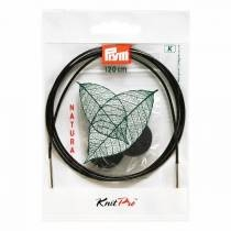 Knitpro Natural wire, 120 cm
