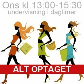 Undervisning ons 13-15:30