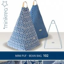 Mini puf - Bean bag 102